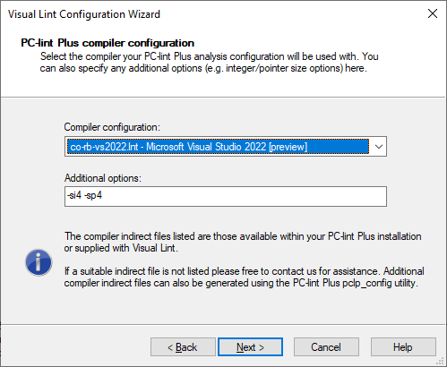 Configuration Wizard with co-rb-vs2022.lnt