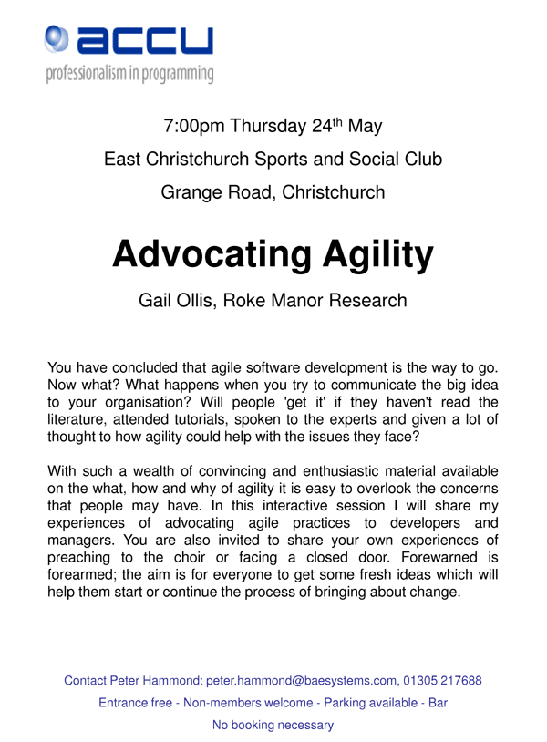 Advocating Agility, with Kate Ollis