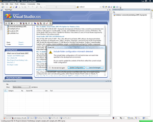One of the new Task Dialogs within Visual Lint, shown here running under Windows Vista