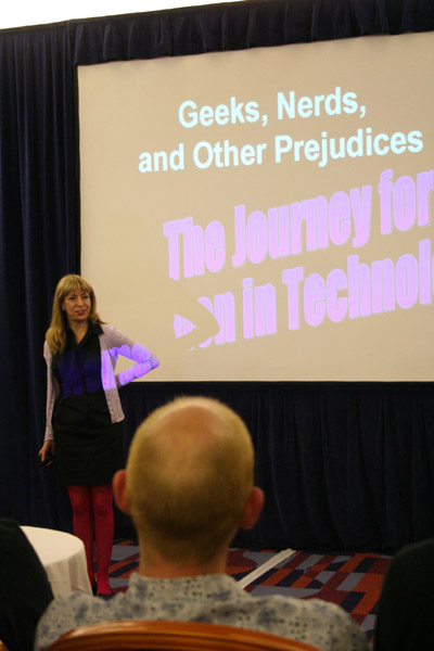 Geeks, Nerds & Other Prejudices - The Journey for Women in Technology