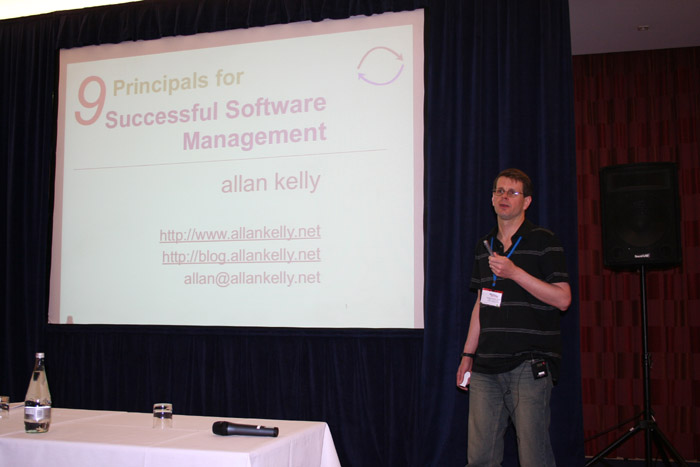 Allan Kelly: Successful Software Management