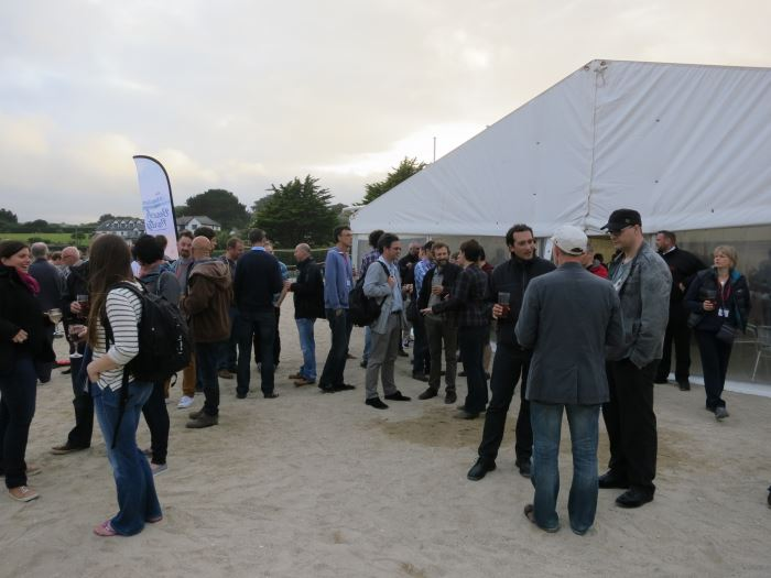 The Agile on the Beach Party gets underway
