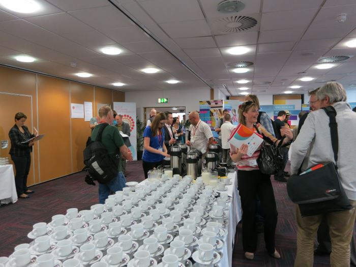 Registration time is coffee time!