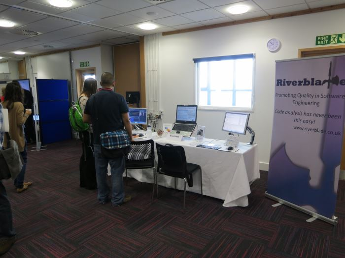 Our stand at Agile on the Beach 2013