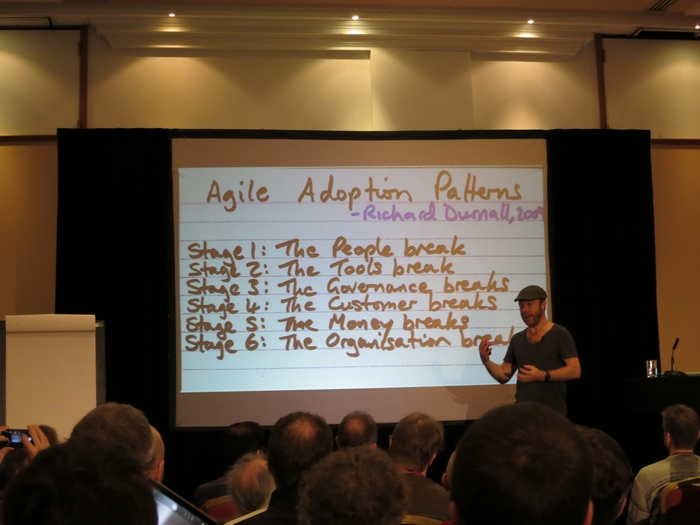 Dan North on why Agile doesn't scale - and what you can do about it