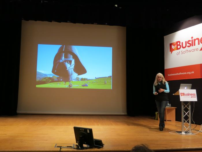 Kathy Sierra on 'Motivation Matters' at Business of Software Europe