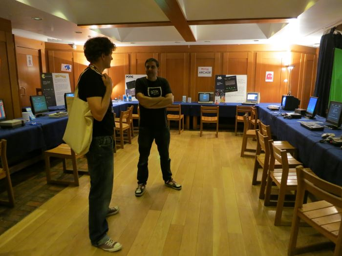 The retro gaming arcade at Business of Software Europe 2014