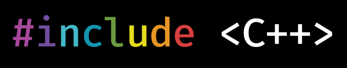 #include <C++> logo
