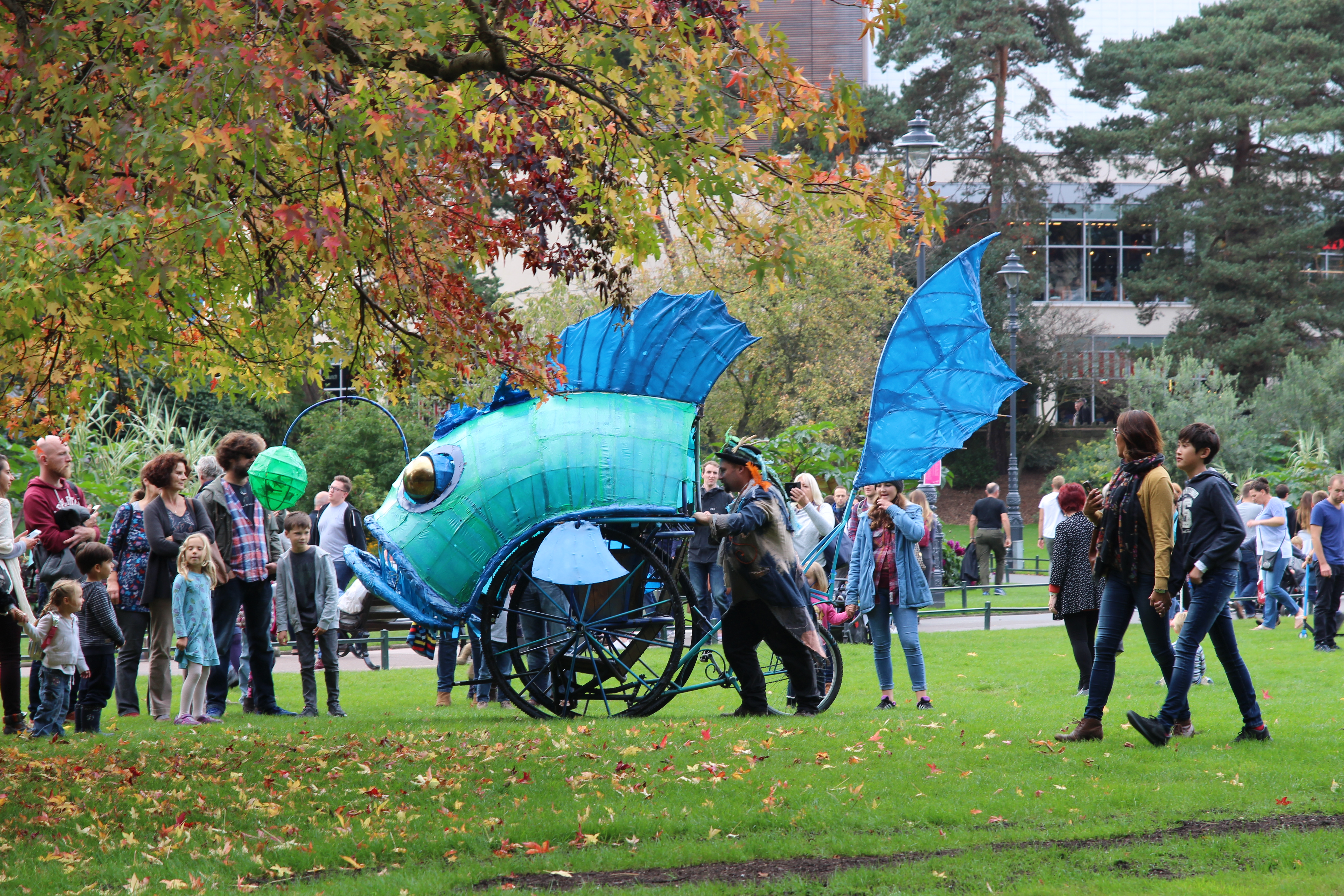 Happy New Year! Have a blue fish for Blue Monday
